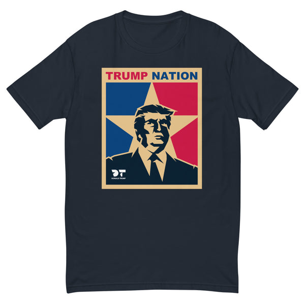 TRUMP NATION (Fitted T-Shirt)