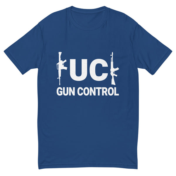 F*** Gun Control (Fitted T-Shirt)