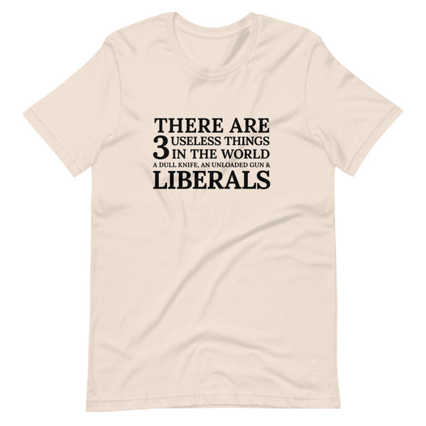 3 Useless Things (Fitted T-Shirt)