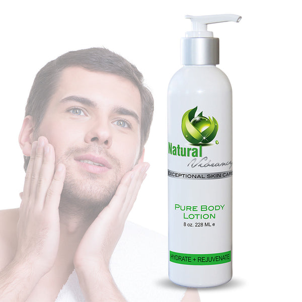 natural face lotion for men