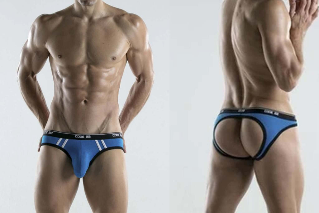 code22 backless briefs