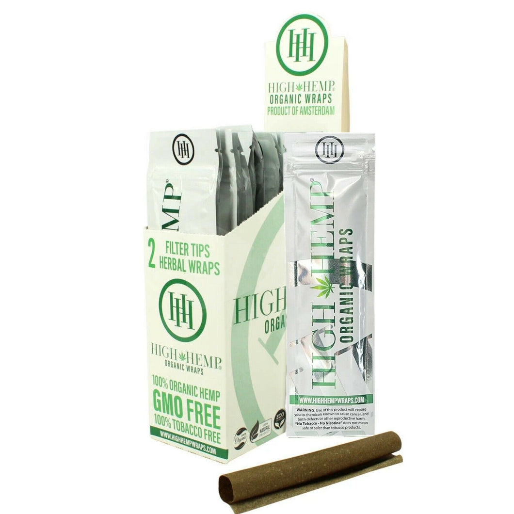 High Hemp - Herbal organic - Wraps