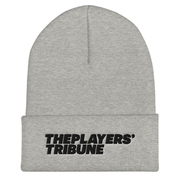 The Players' Tribune Cuffed Beanie