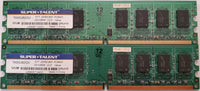 Super-Talent T800UB2GV 4GB PC2-6400 DDR2-800MHz Desktop Memory