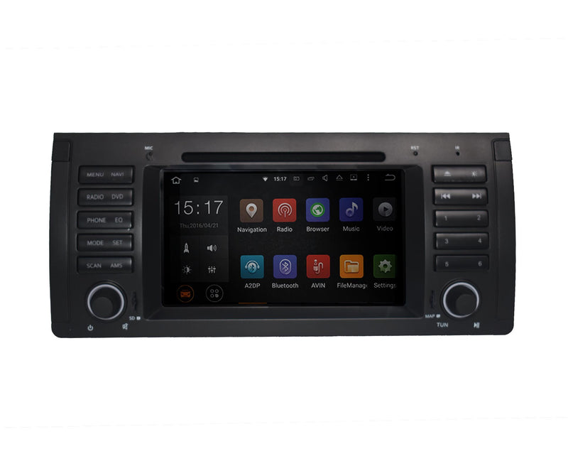 Navtech A11131 BMW E39 OEM Touch Screen LCD Android Multimedia Double Din GPS Navigation System