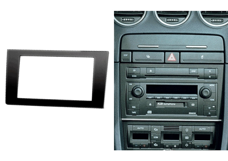 AUDI A4 (B6)/A4 (B7) Double Din Trimplate