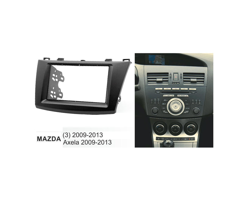 Mazda 3/Axela 2009-2013 Double Din Trimplate