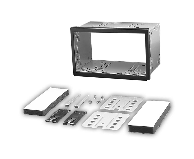 Universal Double Din Head unit Cage Trimplate Fitting Kit