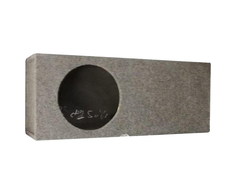 "12"" Single Carpet Subwoofer Box with Top Slot (Price Excludes Shipping)"