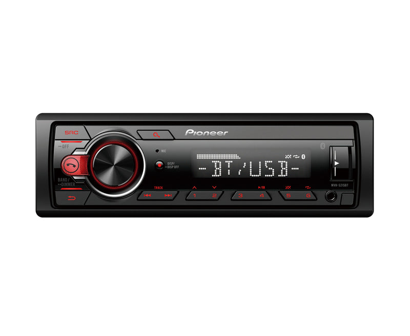 Pioneer MVH-S215BT Bluetooth/USB /AUX  Single Din Media Player