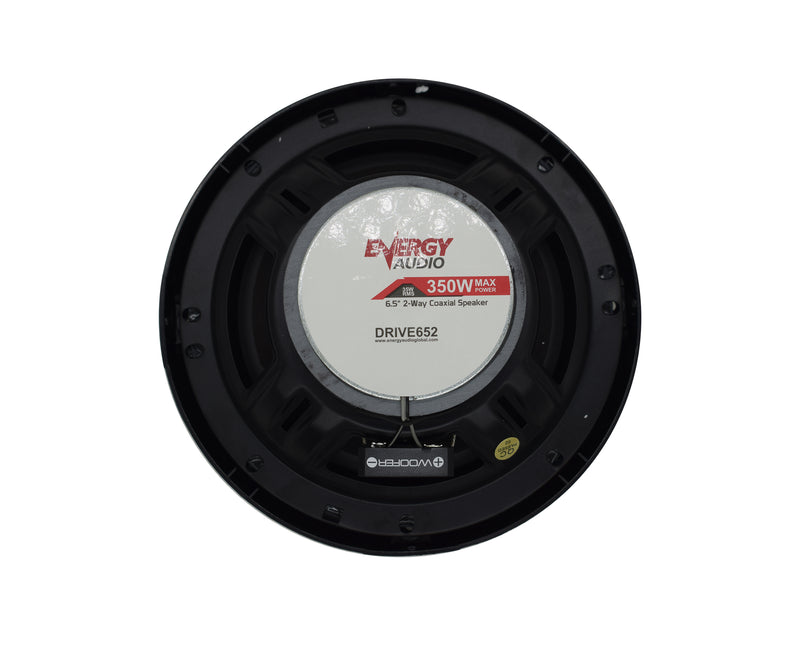 "Energy Audio DRIVE652 350W 2-Way 35W RMS Coaxial 6.5"" Speakers"