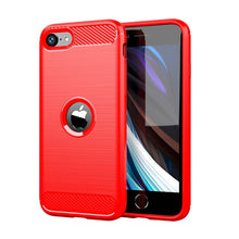 Load image into Gallery viewer, Shockproof TPU Carbon Fiber Case