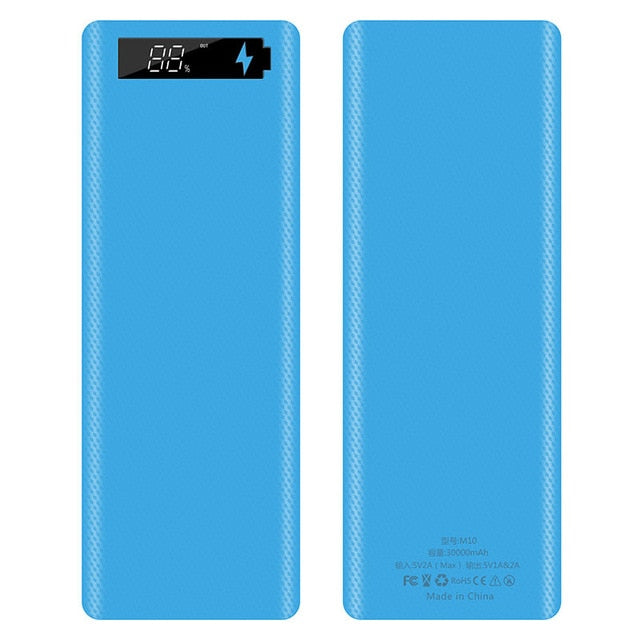 Digital Display Power Bank Case