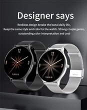 Load image into Gallery viewer, Full screen touch Ladies Smart watch
