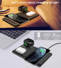Load image into Gallery viewer, 3 in 1 Qi 15W Fast Wireless Charger