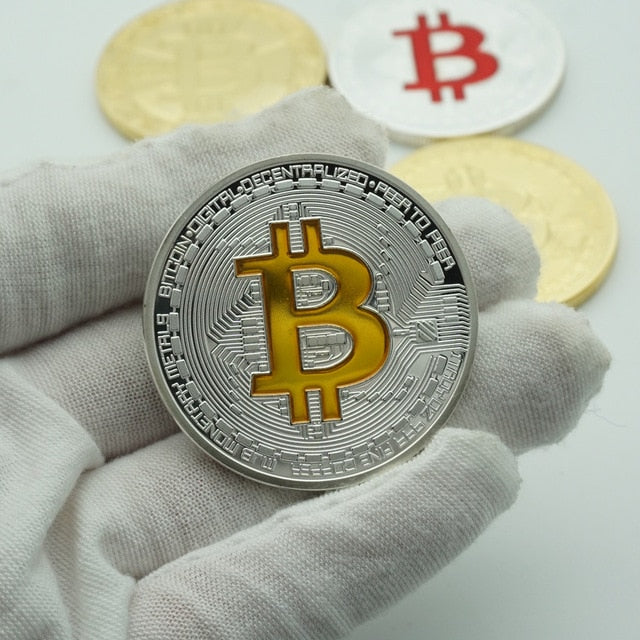 Gold Silver Bitcoin Digital Commemorative