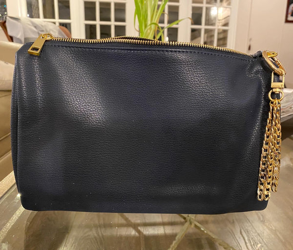 Chic Navy Pouch - SALE