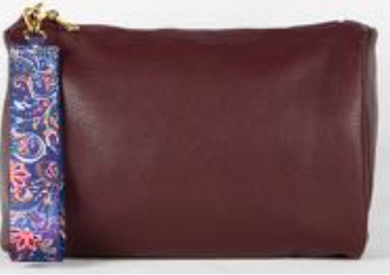Chic Burgundy Pouch - SALE