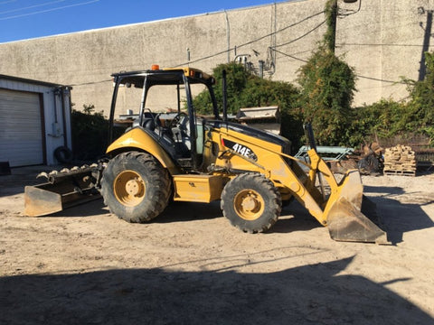 2008 Caterpillar 414E IL Skip Loader