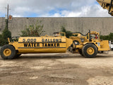 CAT WATER TRUCK, WATER WAGON; 5000 gallon
