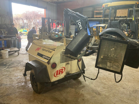 Ingersoll Rand Towable Light Tower Generator Power Plant