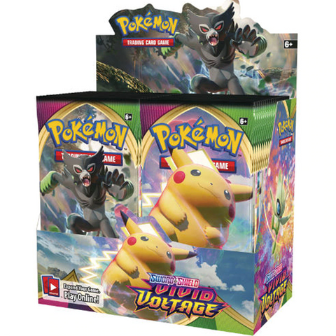 Pokemon: Vivid Voltage Booster Box