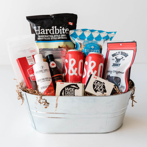 Housewarming, Possession, Men's Birthday or Thank You Gift Basket