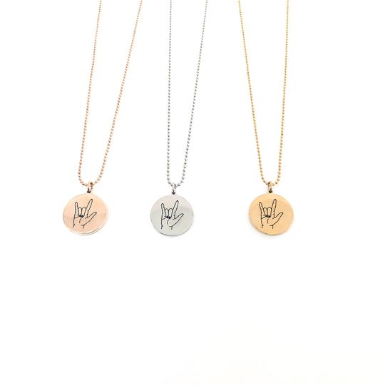 GlassHouseGoods I Love You Necklace