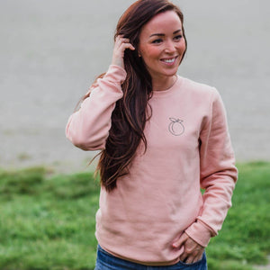 The Sweet Life Apparel Peach Pullover ~ Adult Unisex