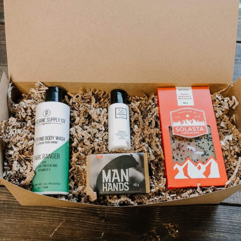 A manly thank you Gift Box