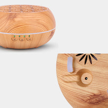 Load image into Gallery viewer, Wood Grain Humidifier Aroma Diffuser