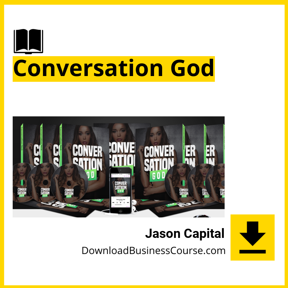 Jason Capital - Conversation God DownloadBusinessCourse download free iDownloadProgram