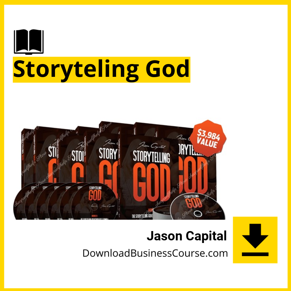 Jason Capital - Storyteling God.