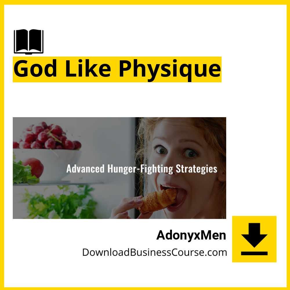 AdonyxMen - God Like Physique.