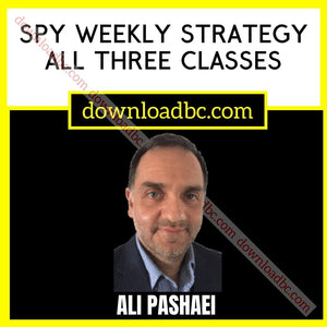 Ali Pashaei 's SPY Weekly Strategy All Three Classes.