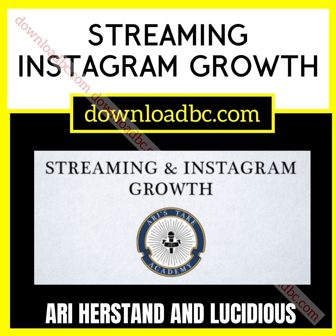 Ari Herstand and Lucidious Streaming Instagram Growth.