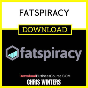 Chris Winters Fatspiracy FREE DOWNLOAD iDownloadProgram