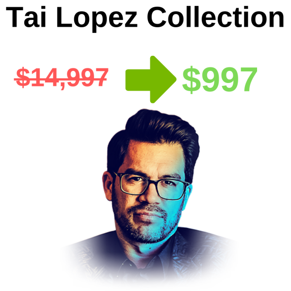 Tai Lopez Collection - All Programs Download FREE DOWNLOAD iDownloadProgram
