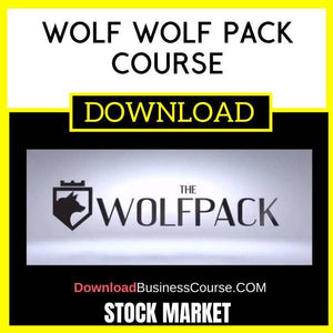 Stock Market Wolf Wolf Pack Course FREE DOWNLOAD iDownloadProgram