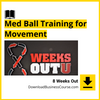 8 Weeks Out - Med Ball Training for Movement.