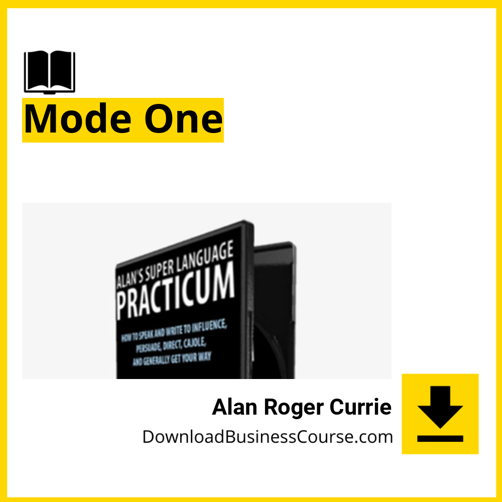 Alan Roger Currie - Mode One.