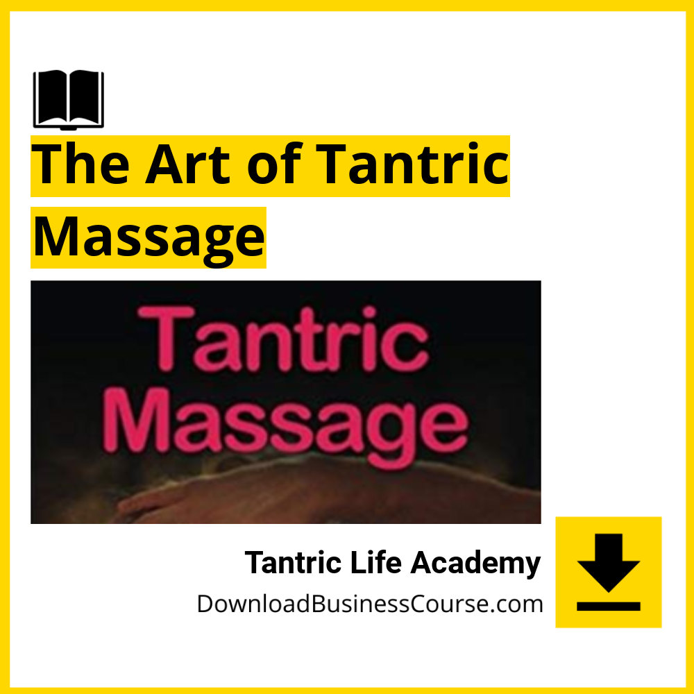 Tantric Life Academy - The Art of Tantric Massage.