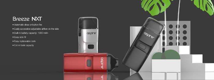 Aspire Breeze NXT Kit Vorschau– Fit, um das