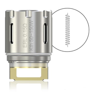 Eleaf MELO RT 25 ERL Single Coil - Verdampferkopf 0,15 Ohm - 5 Stück / Packung