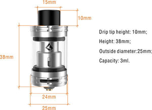 Geekvape illusion Sub Ohm Tank - 4,5ml