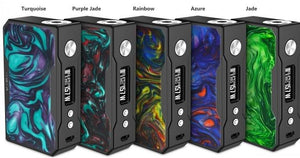Voopoo Black Drag Resin Version 157W TC Box Mod Akkuträger