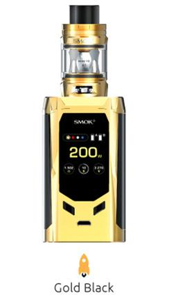 SMOK R-Kiss 200W Starter Kit mit 2ml TFV-Mini V2 Tank Verdampfer