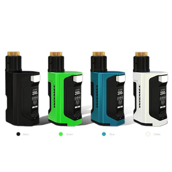 Wismec LUXOTIC DF BOX 200W Kit Mit Guillotine V2 Verdampfer