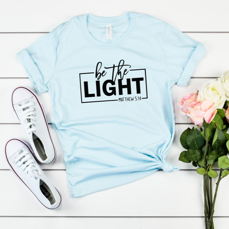Be The Light Matthew 5:14 Tee