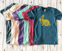 Load image into Gallery viewer, Glitter Easter Bunny Tee